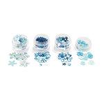 Martha Stewart Crafts - Modern Festive Collection - Embellishment Findings - Blue