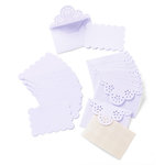 Martha Stewart Crafts - Doily Lace Collection - Die Cut Envelopes