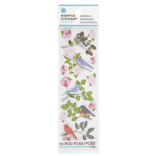 Martha Stewart Crafts - Stickers - Birds on Branches