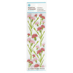 Martha Stewart Crafts - Layered Stickers - Carnations