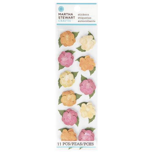 Martha Stewart Crafts - Layered Stickers - Begonia