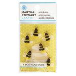 Martha Stewart Crafts - 3 Dimensional Stickers - Bee
