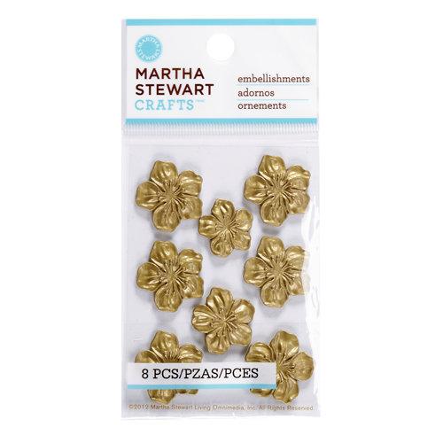 Martha Stewart Crafts - Vintage Collection - Metal Embellishments - Heirloom Azalea