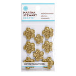 Martha Stewart Crafts - Vintage Collection - Metal Embellishments - Heirloom Azalea