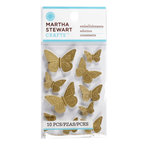 Martha Stewart Crafts - Vintage Collection - Metal Embellishments - Heirloom Butterfly