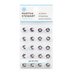 Martha Stewart Crafts - Bling - Gemstone Stickers - Mini Metallic Daisies