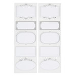 Martha Stewart Crafts - Labels - Ornate Frame