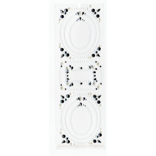 Martha Stewart Crafts - Doily Lace Collection - Gemstone Stickers ...