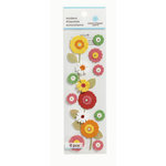 Martha Stewart Crafts - 3 Dimensional Stickers with Gem Accents - Flower Garland