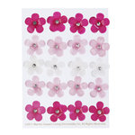 Martha Stewart Crafts - Vintage Girl Collection - Acrylic Stickers - Flowers