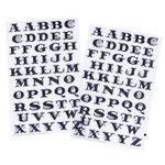 Martha Stewart Crafts - Halloween - Glitter Stickers - Spiderweb Alphabet, CLEARANCE