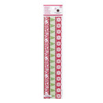 Martha Stewart Crafts - Christmas - 3 Dimensional Border Stickers with Glitter Accents - Scandinavian