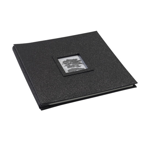 Martha Stewart Crafts - 12 x 12 Glitter Album - Black