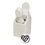 Martha Stewart Crafts - Valentine - Double Craft Punch - Medium - Scroll Heart