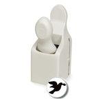 Martha Stewart Crafts - Valentine - Craft Punch - Medium - Love Dove