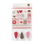 Martha Stewart Crafts - Valentine - Stamp and Ink Set