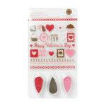 Martha Stewart Crafts - Valentine - Stamp and Ink Set