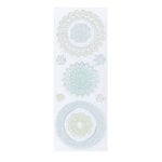 Martha Stewart Crafts - Clear Acrylic Stamps - Doilies