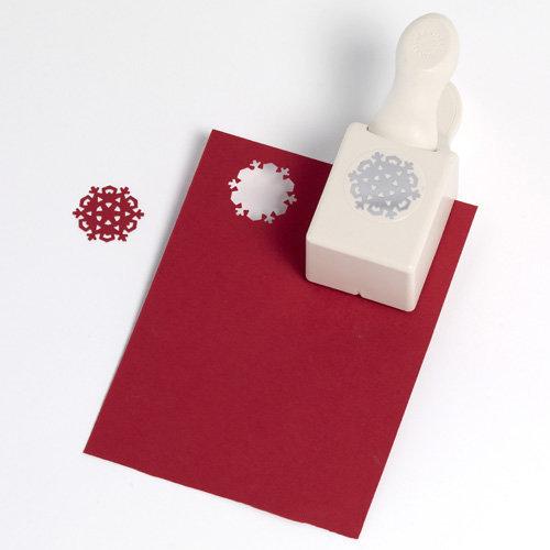 Martha Stewart Crafts - Christmas - Double Craft Punch - Medium - Nordic Snowflake