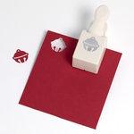 Martha Stewart Crafts - Christmas - Double Craft Punch - Medium - Jingle Bell