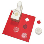 Martha Stewart Crafts - Christmas - Stamp and Punch Pack - Ornaments