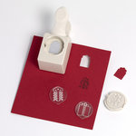 Martha Stewart Crafts - Christmas - Stamp and Punch Pack - Gift