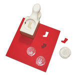 Martha Stewart Crafts - Christmas - Stamp and Punch Pack - Stocking