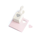 Martha Stewart Crafts - Double Craft Punch - Medium - Heart Button