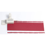 Martha Stewart Crafts - Christmas - Edge Punch - Poinsettia Vine