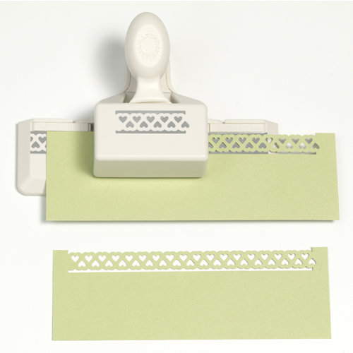Martha Stewart Crafts - Double Edge Punch - Heart Loops Trim