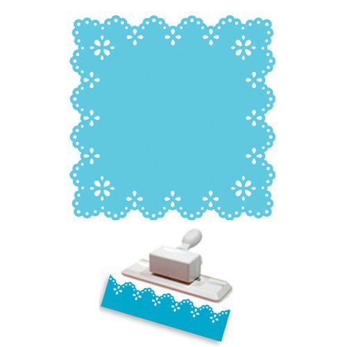 Martha Stewart Crafts - Punch Around the Page - Craft Punch Set - Eyelet Lace