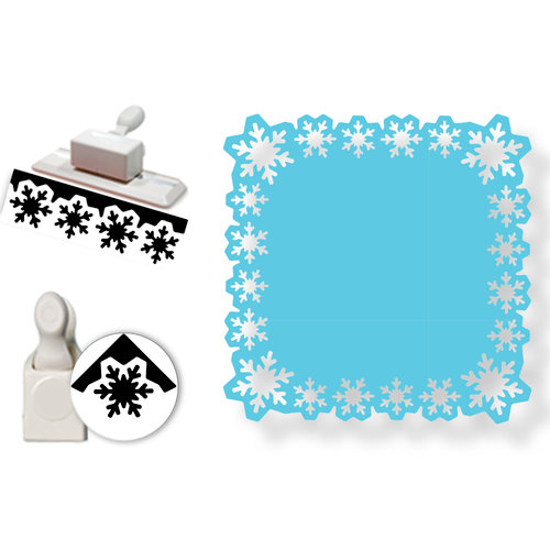 Martha Stewart Crafts - Punch Around the Page - Craft Punch Set - Aspen Snowflake