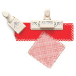 Martha Stewart Crafts - Valentine's Day Collection - Punch Around the Page - Craft Punch Set - Dancing Hearts