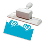 Martha Stewart Crafts - Deep Edge Punch - Lattice Heart