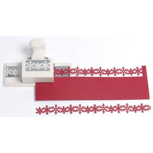 Martha Stewart Crafts - Christmas - Double Edge Punch - Snowflake Trim, BRAND NEW