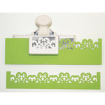 Martha Stewart Crafts - Deep Edge Punch - Scroll Heart