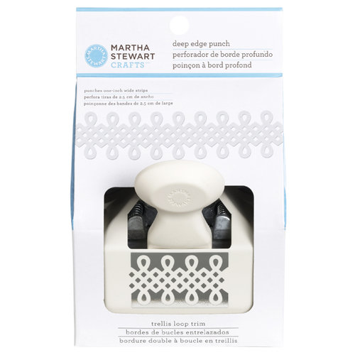 Martha Stewart Crafts - Deep Edge Punch - Trellis Loop Trim