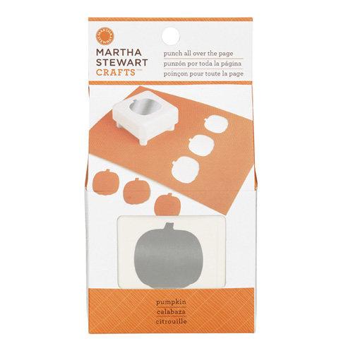 Martha Stewart Crafts - Halloween - Punch All Over the Page - Craft Punch - Pumpkin