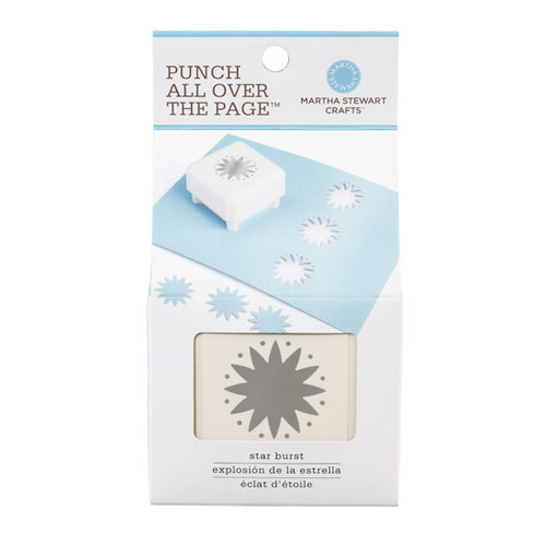 Martha Stewart Crafts - Punch All Over the Page - Craft Punch - Star Burst