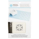 Martha Stewart Crafts - Punch All Over the Page - Craft Punch - Pattern Scallop Snowflake