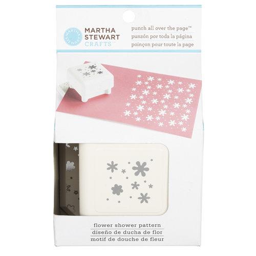 Martha Stewart Crafts - Punch All Over the Page - Craft Punch - Pattern Flower Shower