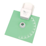 Martha Stewart Crafts - Circle Edge Punch Cartridge - Floral Web