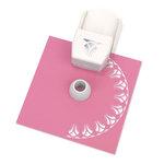 Martha Stewart Crafts - Circle Edge Punch Cartridge - Flower Arches