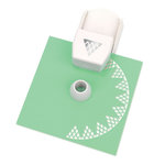Martha Stewart Crafts - Circle Edge Punch Cartridge - Diamond Lace