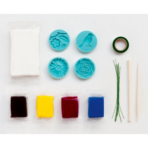 Martha Stewart Crafts - Crafter's Clay Collection - Starter Kit - Nature