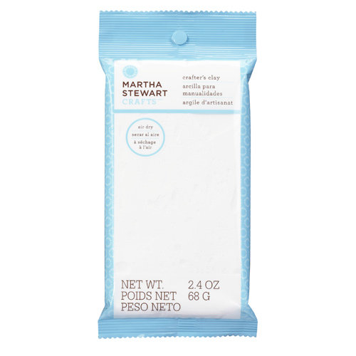 Martha Stewart Crafts - Crafter's Clay Collection - White Clay