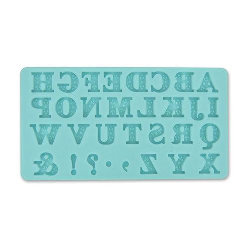 Martha Stewart Crafts - Crafter's Clay Collection - Silicone Mold - Alphabet