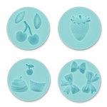 Martha Stewart Crafts - Crafter's Clay Collection - Silicone Mold - Essential Icons