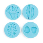 Martha Stewart Crafts - Crafter's Clay Collection - Silicone Mold - Woodland