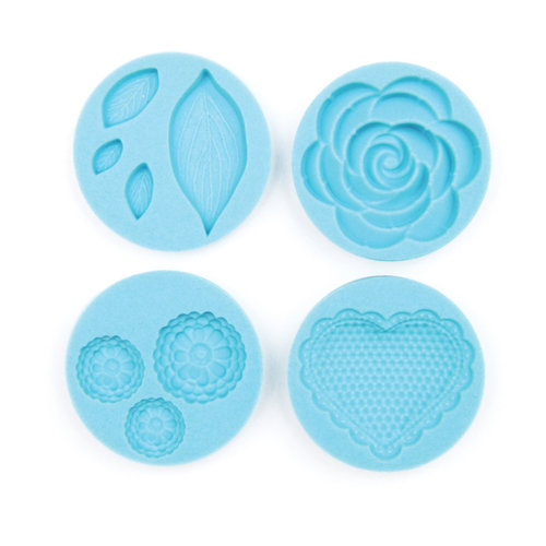 Martha Stewart Crafts - Crafter's Clay Collection - Silicone Mold - Romantic